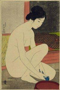 Ukiyo-e woodblock print