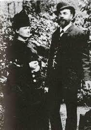 Antonín and Anna Dvořák in London