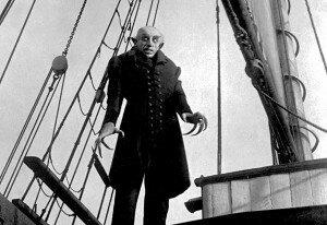 F.W. Murnau's Nosferatu, played by Max Schreck