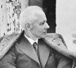 Béla Bartók, photographed by Fritz Reiner