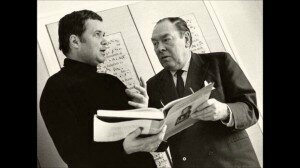 Dietrich Fischer-Dieskau and accompanist Gerald Moore