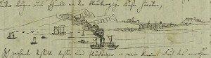 Mendelssohn's sketch of Scottish Landscape