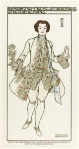 Octavian in Der Rosenkavalier, costume designed by Alfred Roller