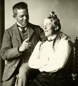 Carl Nielsen with his wife Anne Marie