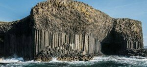 Exterior of Fingal's Cave