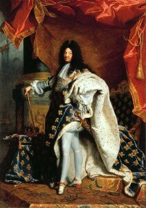 King Louis XIV of France, boss of Louis Marchand