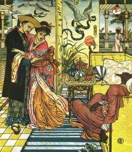 Walter Crane: Aladdin (1874)