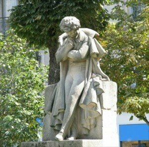 Statue of Berlioz in Grenoble