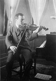 Bronisław Huberman, original commissioner of the Korngold violin concerto