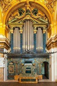 Organ in the Capilla Palacio Real de Madrid