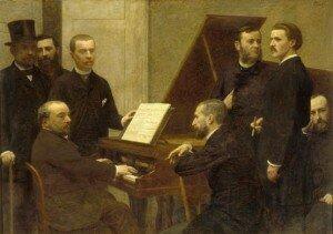 Henri Fantin-Latour: Autour du piano (1885) (Musée d'Orsay, Paris)
