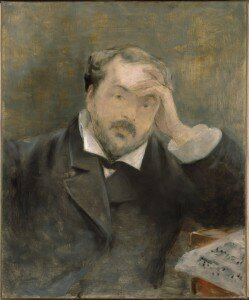 Manet (attr.): Portrait of the Composer Emmanuel Chabrier (Fogg Museum, Harvard University)