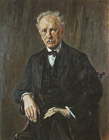 Portrait of Richard Strauss by Max Liebermann © Wikipedia