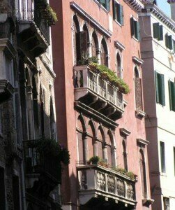 Mozart's house in Venice