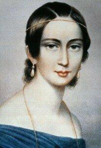 Clara Schumann, dedicatee of Schumann's Fantasie in C