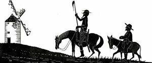 """"""">Don Quixote"""