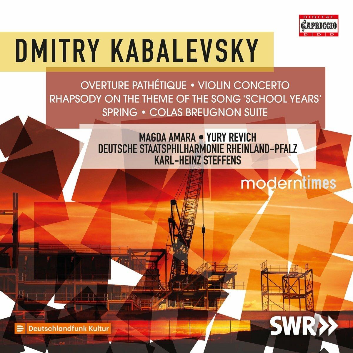 KABALEVSKY, D.B.: Pathétique Overture / Violin Concerto, Op. 48 / Vesna / Colas Breugnon