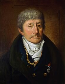 Portrait of Antonio Salieri by Joseph Willibrord Mähler
