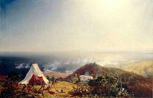 Attaque d'Alger par la mer, 29 Juin 1830 by Théodore Gudin