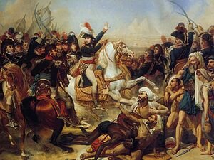 Battle of the Pyramids by Baron Antoine-Jean Gros