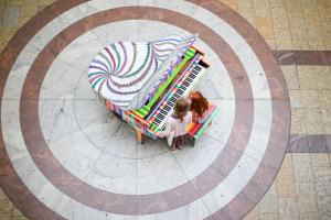 Grand street piano in Bristol, UK © www.streetpianos.com