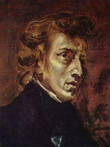 Delacroix: Chopin (Louvre Museum, Paris)