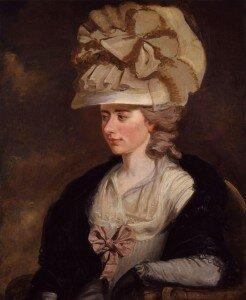 E.F. Burney: Frances Burney (ca. 1784-1785)
