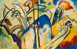 Kandinsky: Composition IV (1911) (Kunstsammlung Nordrhein-Westfalen, Dusseldorf)