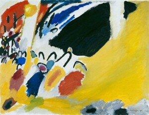 Kandinsky: Impression III (Concert) (1911) (The Städtische Galerie im Lenbachhaus, Munich)