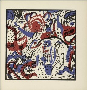 Kandinsky: Klänge: folio 52: Grosse Auferstehung (Great Resurrection)