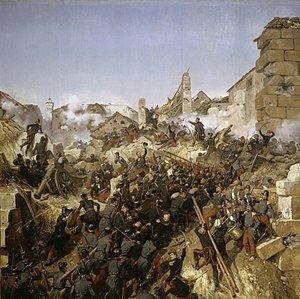 La prise de Constantine by Horace Vernet
