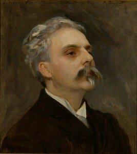 Sargent: Gabriel Fauré (1889) (Collection Musée de la Musique, Paris)