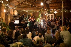 An informal salon concert at The Treehouse in Shoreditch, London