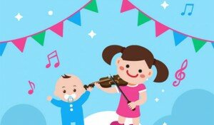 hit the right now music for children image