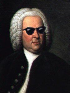 Bach in Sunglasses