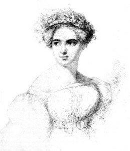 Hensel: Fanny Mendelssohn (before 1829)