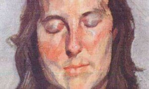 Freud: Woman with Eyes Closed