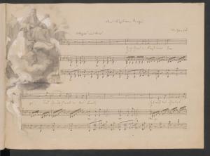 Hensel / Mendelssohn-Hensel: Reisealbum: Der Fürst vom Berge
