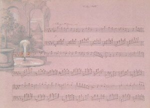 Hensel / Mendelssohn-Hensel: Reisealbum: Villa Mills