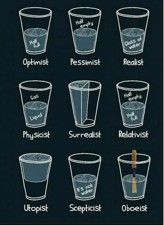 Optimist, Pessimist, and… Oboeist