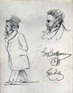 Sketch of Beethoven
