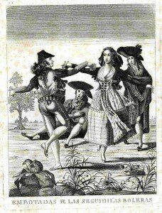 Sequilla dancing (18th century)