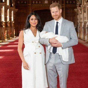 Duchess Meghan and Prince Harry and their Royal baby Archie Harrison