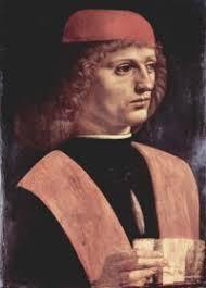 Portrait of Franchinus Gaffurius by Leonardo da Vinci