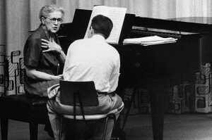 Nadia Boulanger teaching