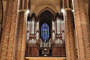 Organ at Szczecin Cathedral