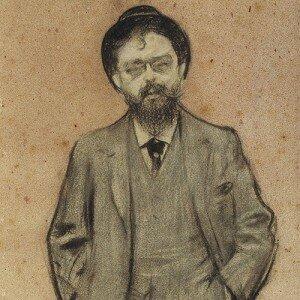 Ramon Casas: Isaac Albéniz