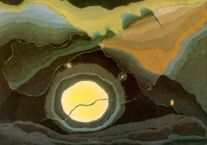 """Dove: """"Me and the Moon,"""" (1927) (Phillips Collection, Washington, DC)"""