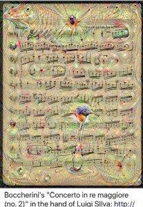 dream Boccherini concerto silva