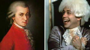 Mozart; Amadeus. Picture: Getty